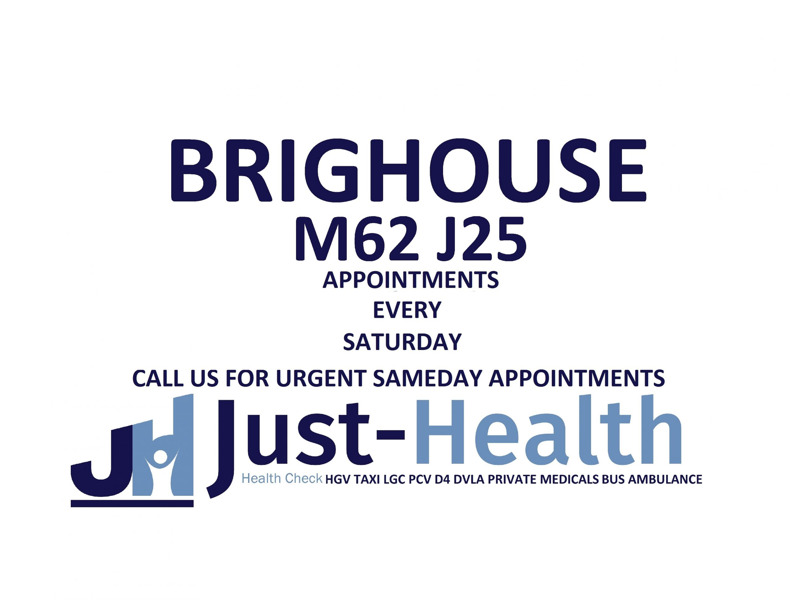 BRIGHOUSE yorkshire huddersfield hgv medical just health