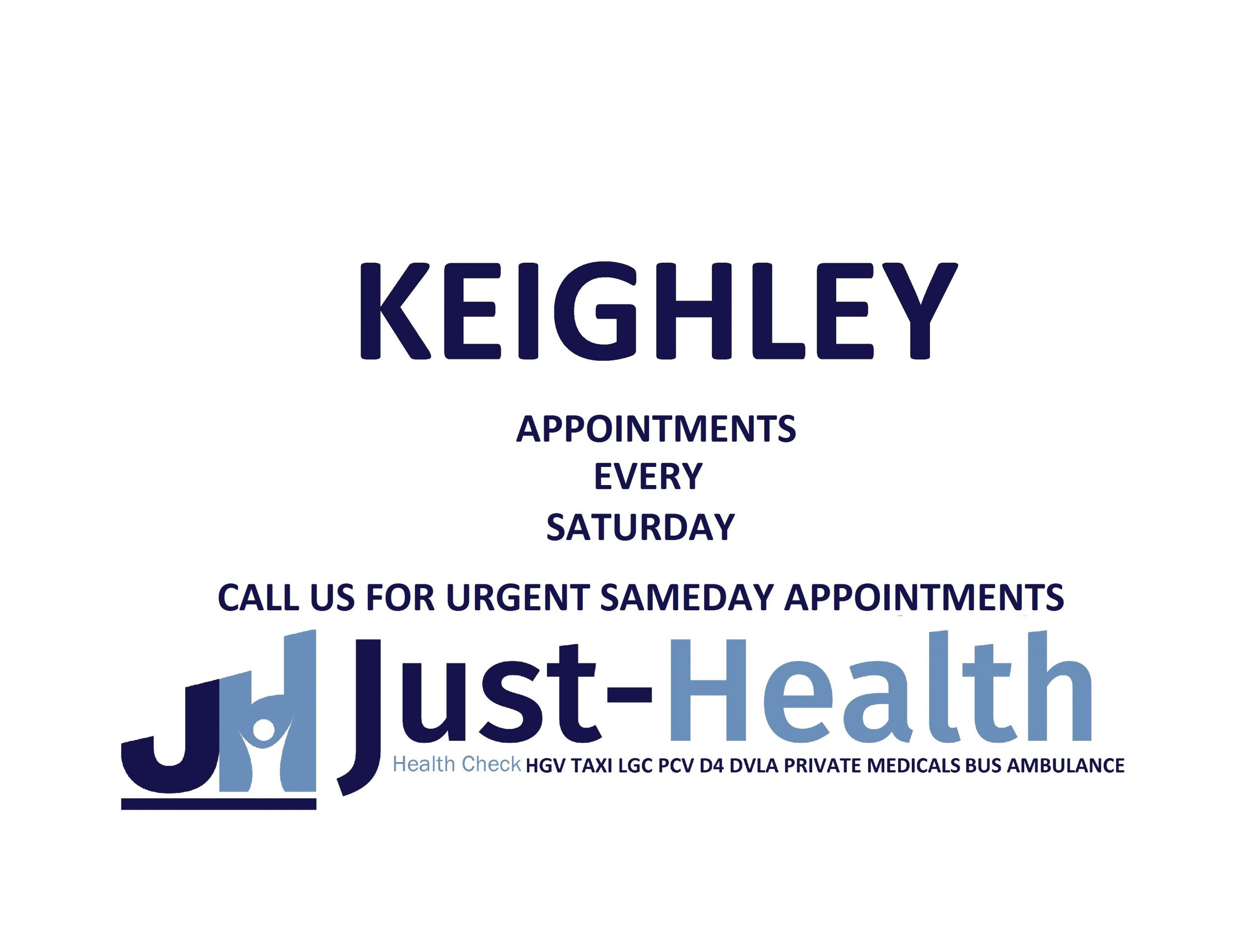 hgv medical KEIGHLEY just health cross hills yorkshire
