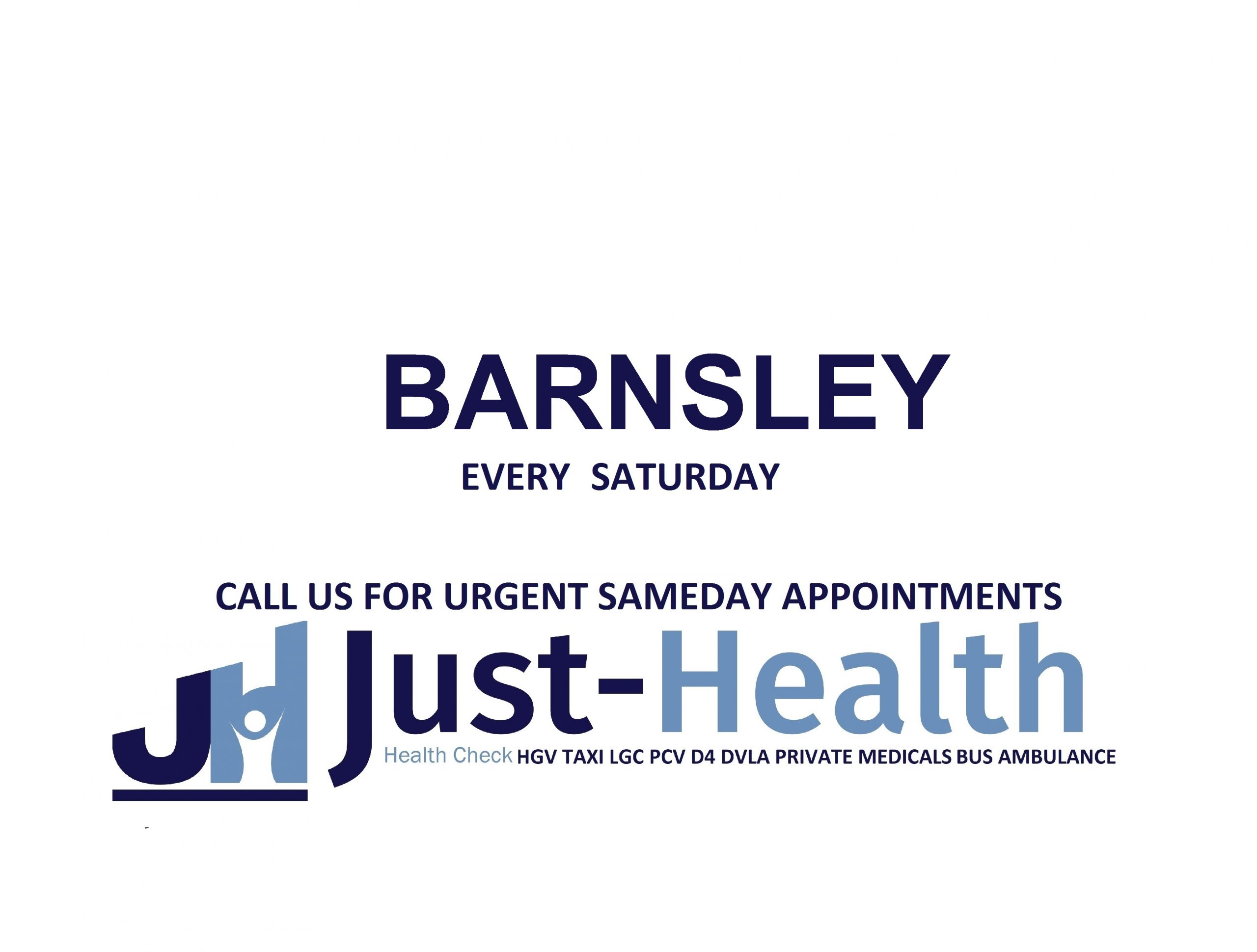 JUST HEALTH barnsley HGV Medical