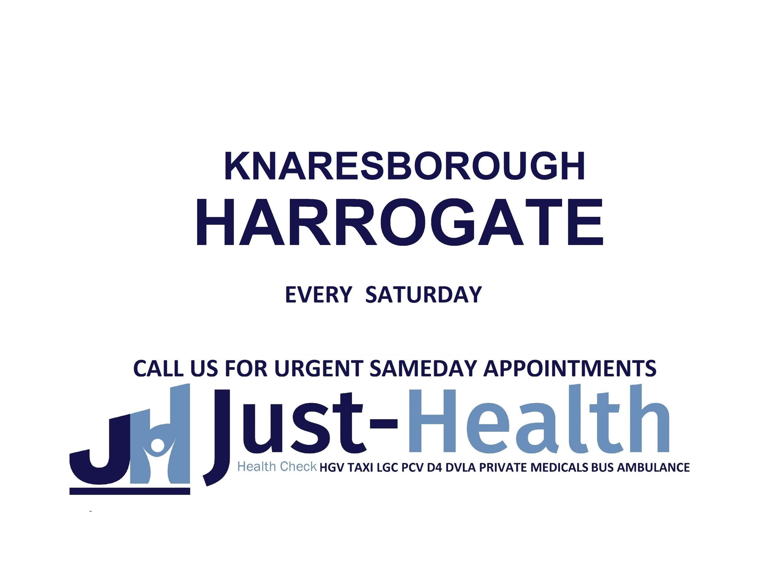 D4 Driver medicals hgv pcv c1 Harrogate York