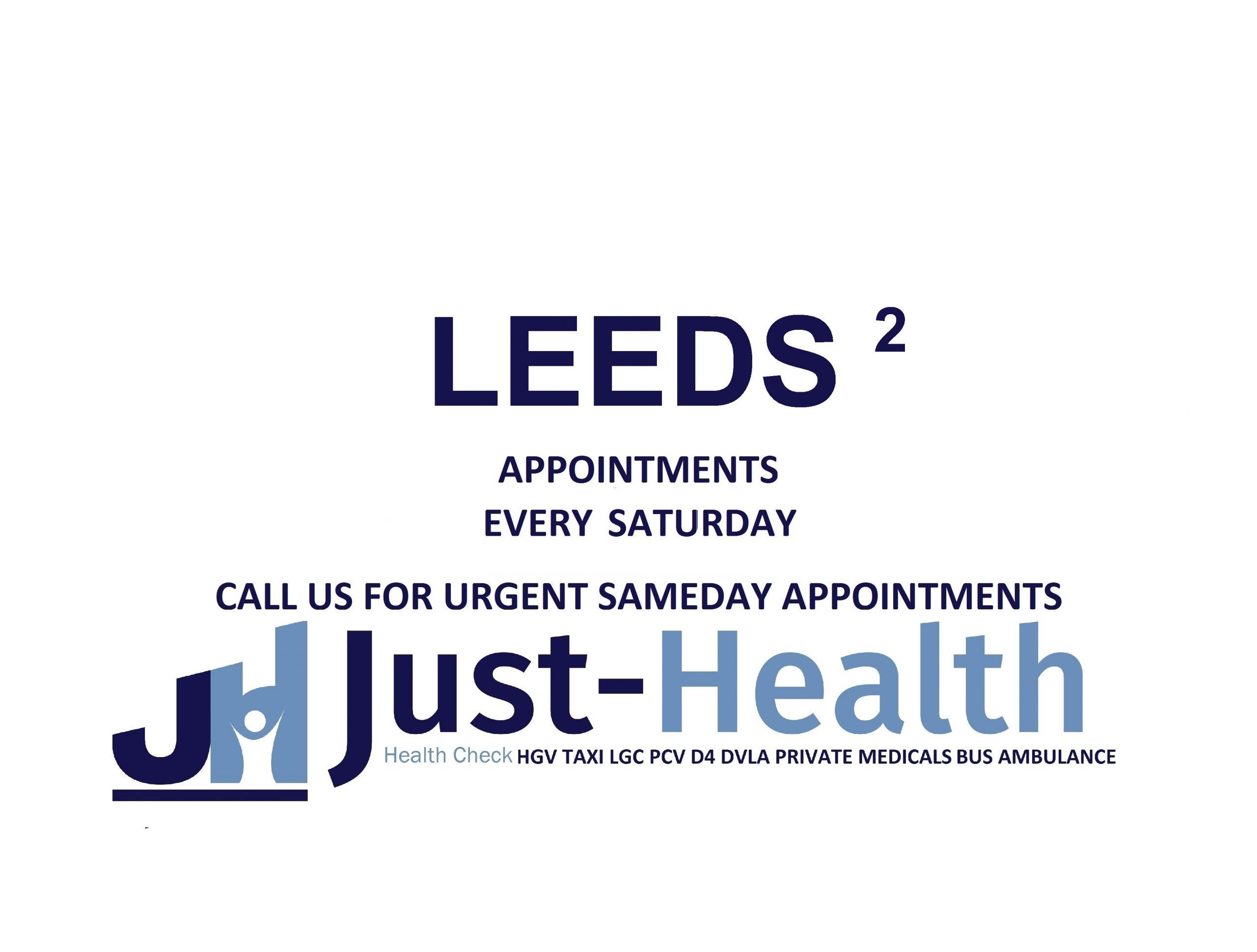 D4 Driver medicals hgv pcv c1 Leeds Holbeck Beeston Elland